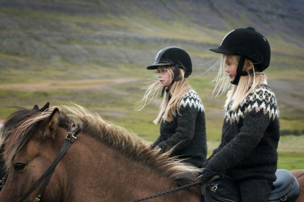 horse riding helmet hairstyle