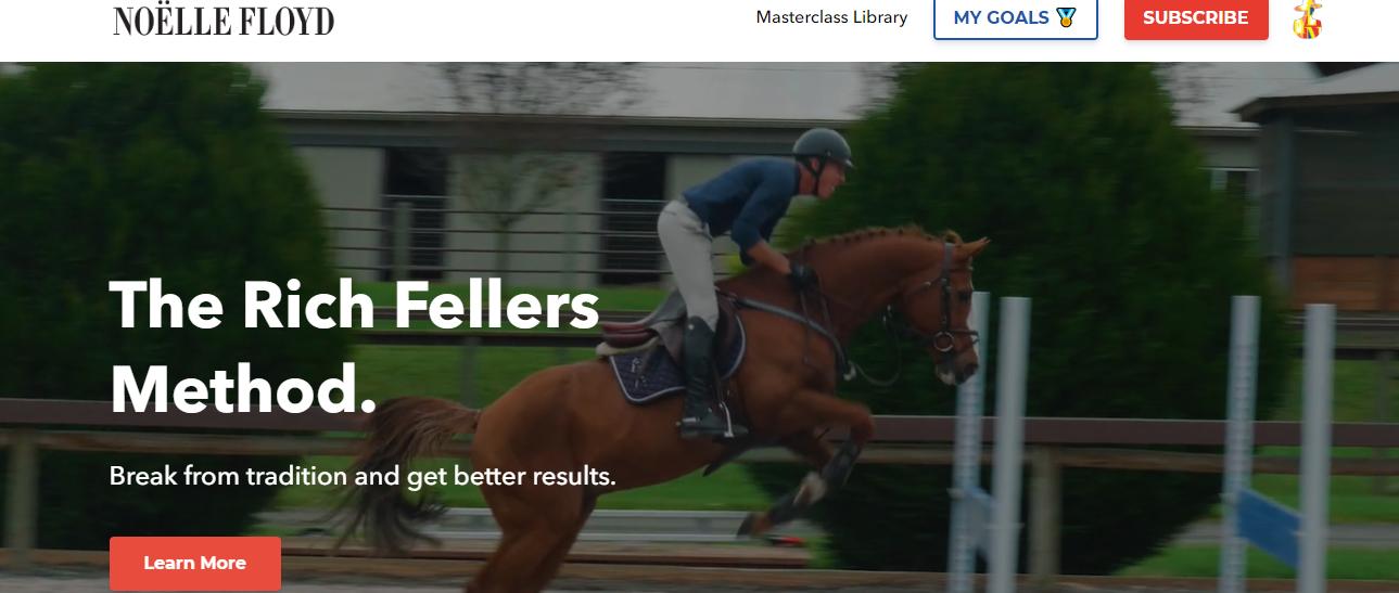 noelle floyd online horse riding courses