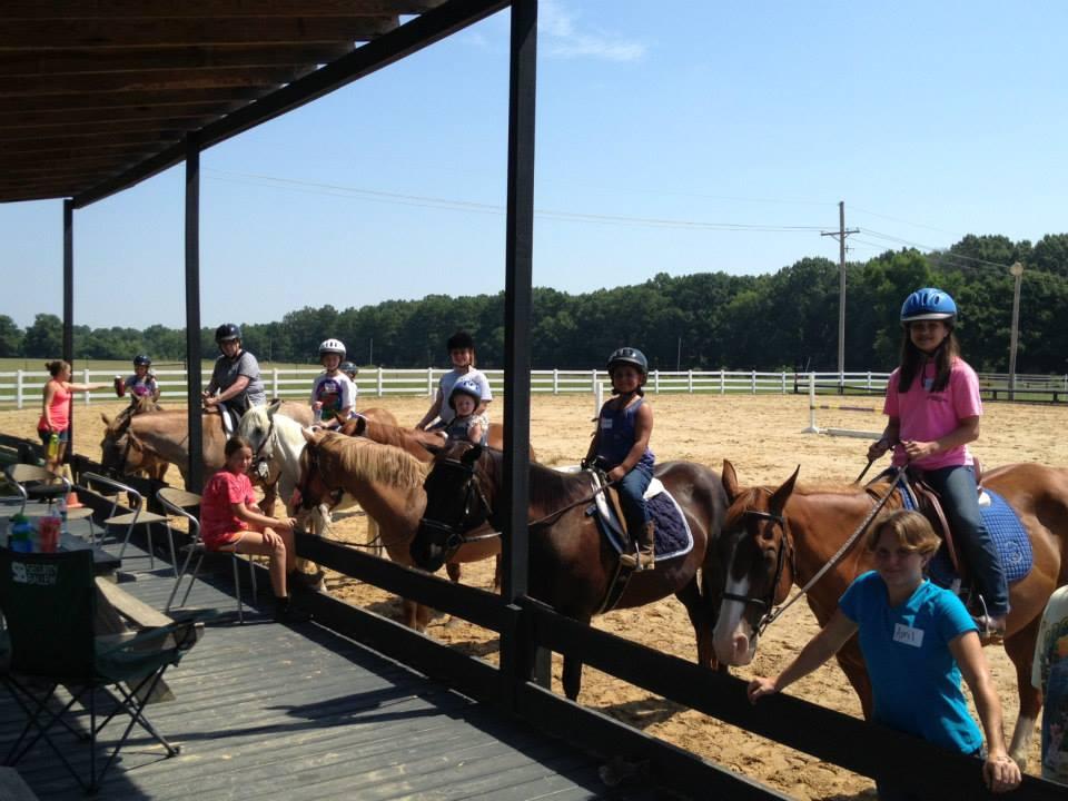 Blue Ribbon Riding Academy Horsemanship Camp Mississippi