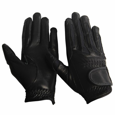 Equine Couture Leather Summer Gloves Girls