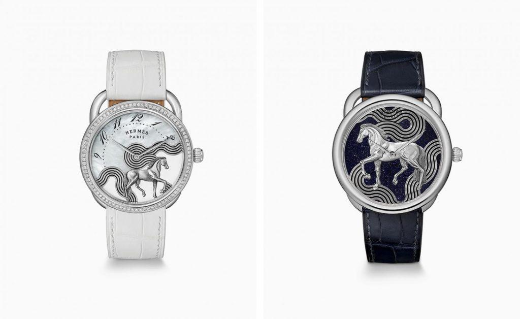Hermes Arceau Cheval Cosmique Watch