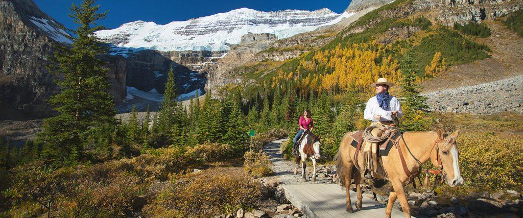 horseback riding banff adventures canada