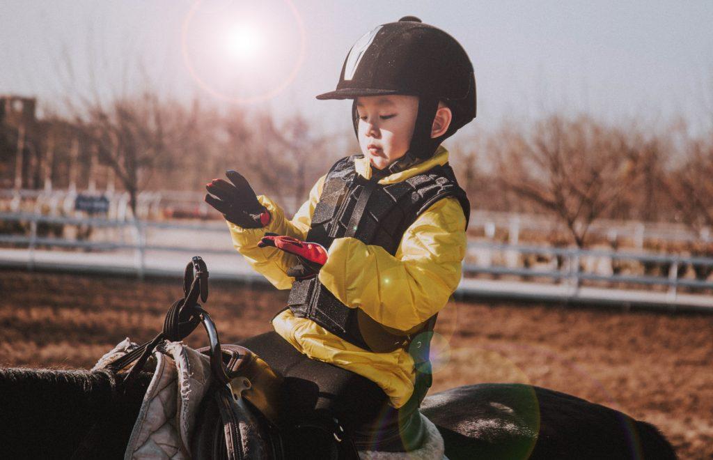 horseback riding gloves for kids