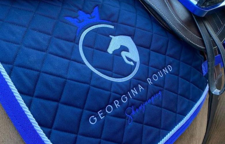 georgina round showjumping logo