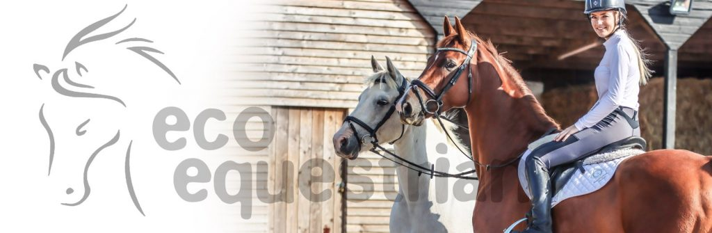 eco equestrian sustainable riding textile