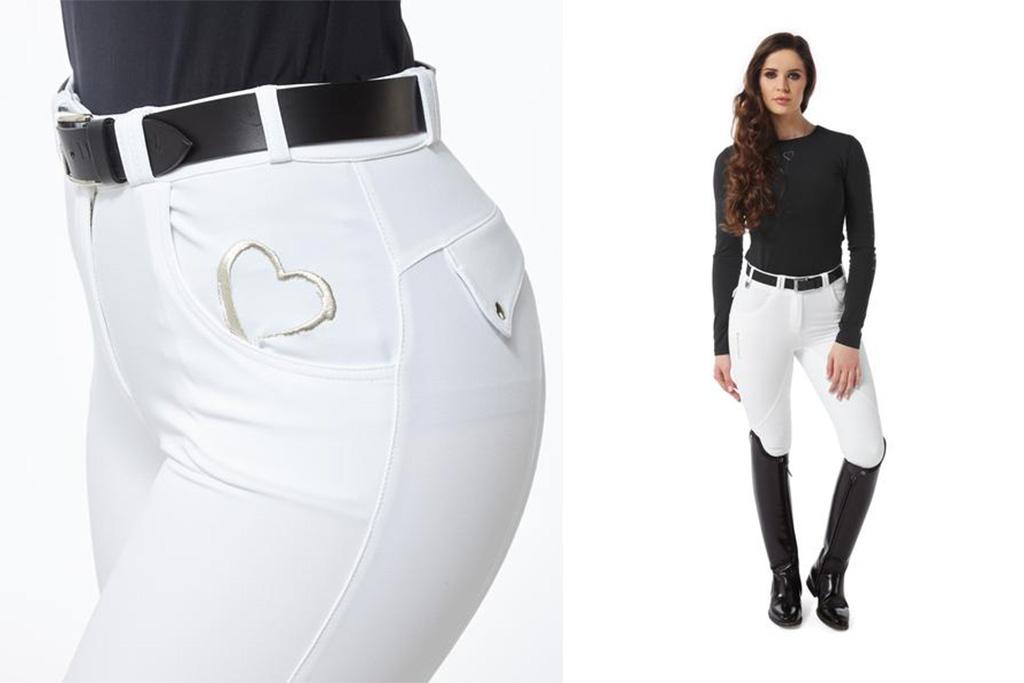 black heart equestrian leggings