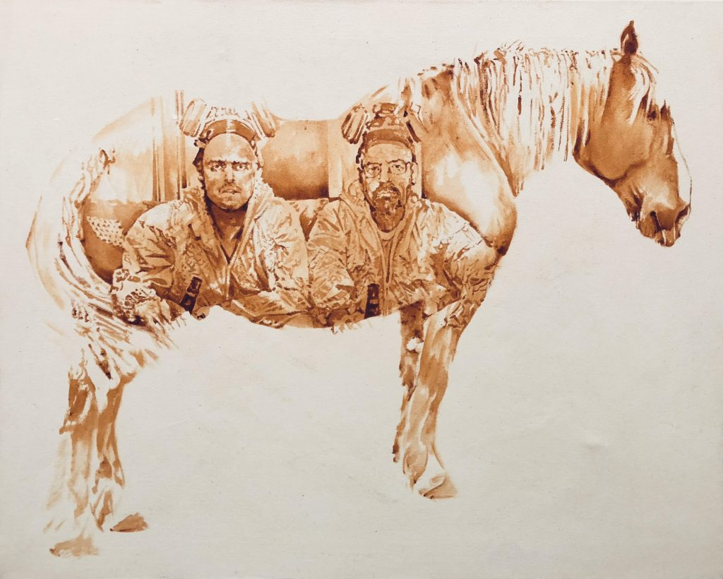 watercolor horse painting ideas breaking bad
